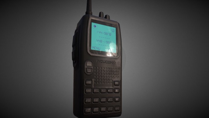 Walkie-talkie 3D Model