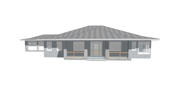 E-1 Howe Main House PLAN 1 3D Model