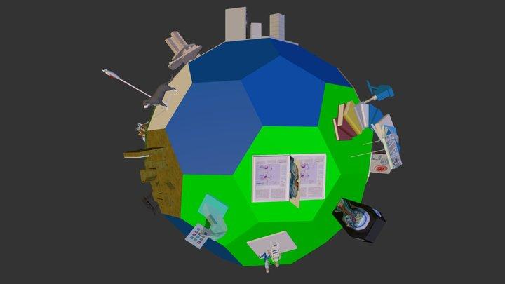 U C D Life 3D Model