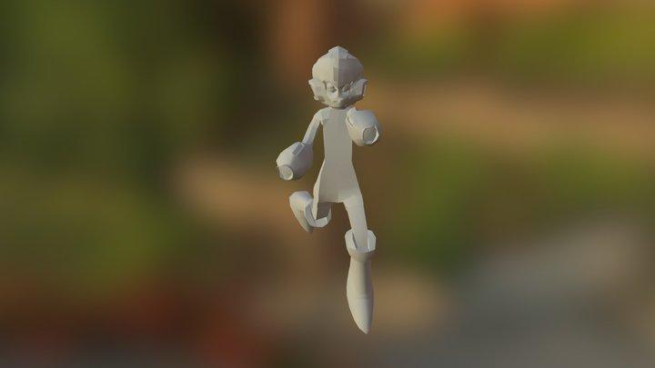 Megaman (Dbl buster) 3D Model