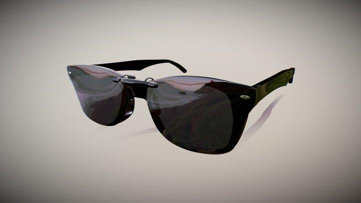 Polarized Sunglasses RAY BAN 3D Model