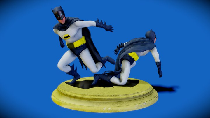Batwest (Adam West's Batman 1966) 3D Model