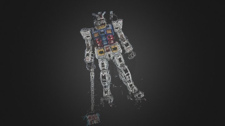 gundam point 3D Model