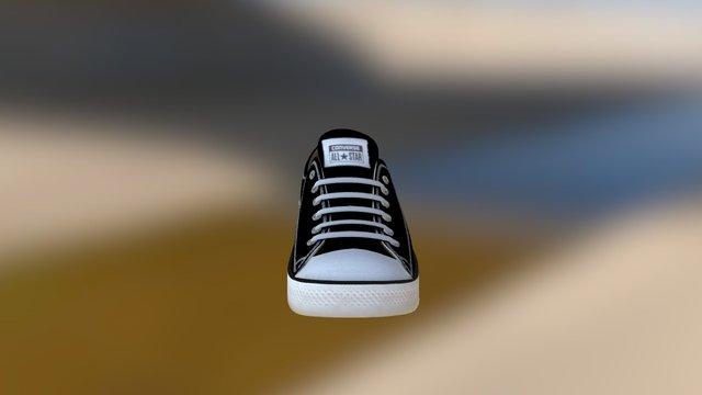 Converse Sneakers 3D Model