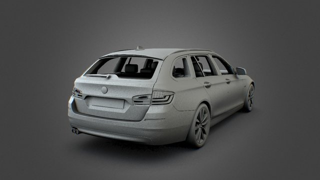 BMW 5-Series Touring 3D Model