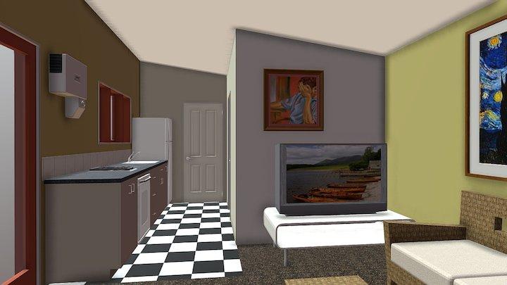 Mopanui Transportable Interior 3D Model
