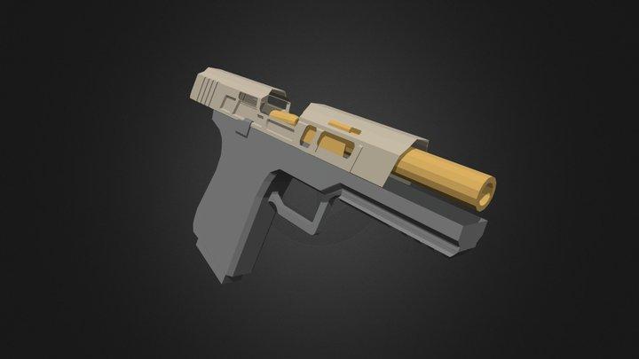 Wei Industry Pistol - WIP 3D Model