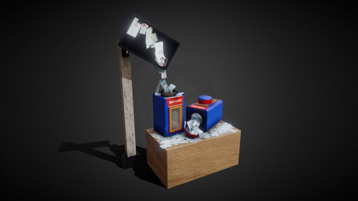Data for Sale 3D Model