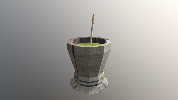 Chimarrão 3D Model