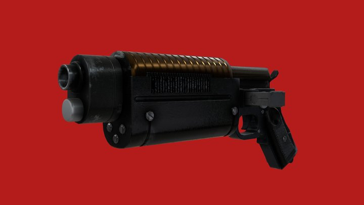 Star Wars - K-16 - Bryar Pistol 3D Model