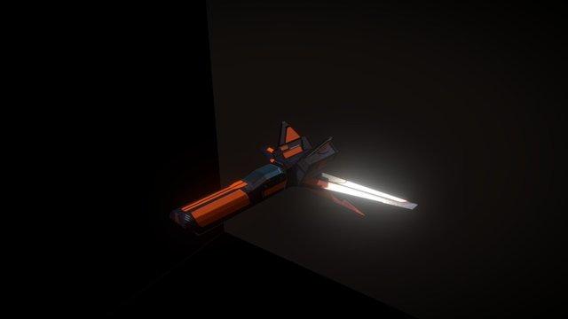 ISC Fighter 3D Model