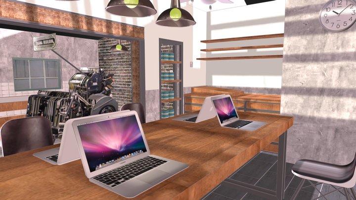 工作室 3D Model