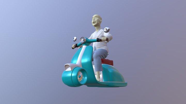 Oldman. not textured yet 3D Model
