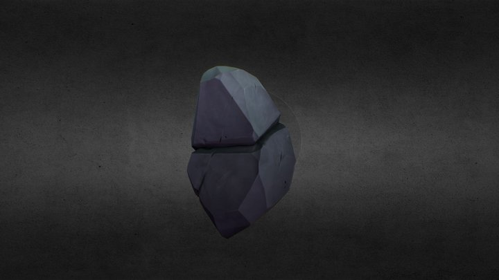 Medium Rock 3D Model