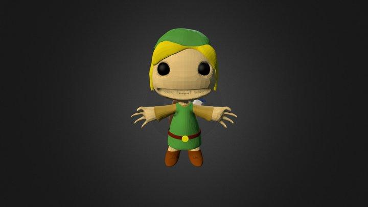 Sackboy Link 3D Model