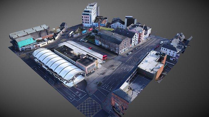 Bus Eireann Station - Cork, Ireland 3D Model
