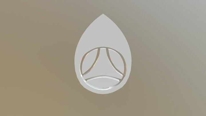 Tamashi logo loading animation 3D Model