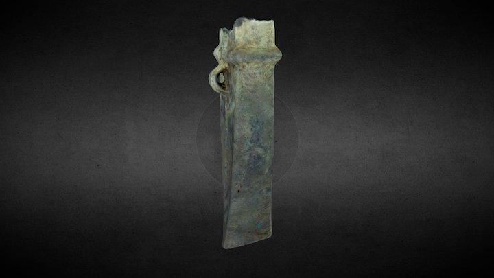 Evreux (FRA) - Bronze Age Axe (004) 3D Model