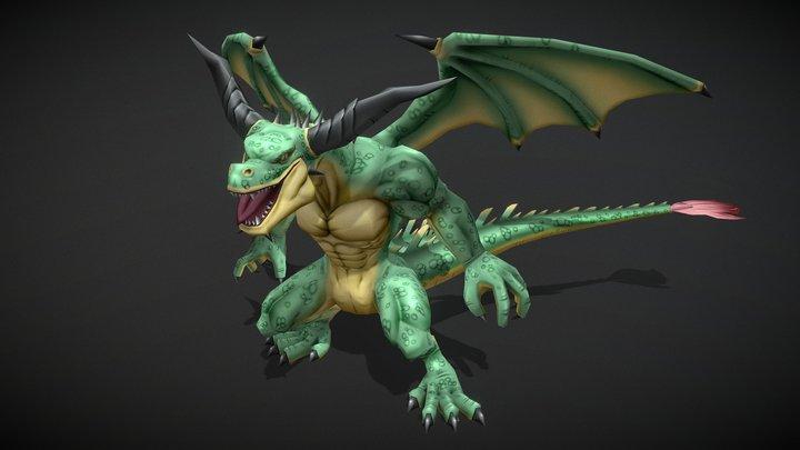 Dragon_03 3D Model