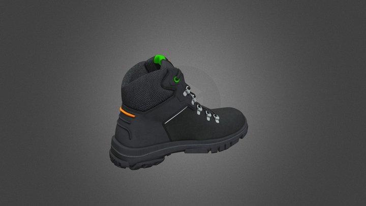 black-shoe 3D Model