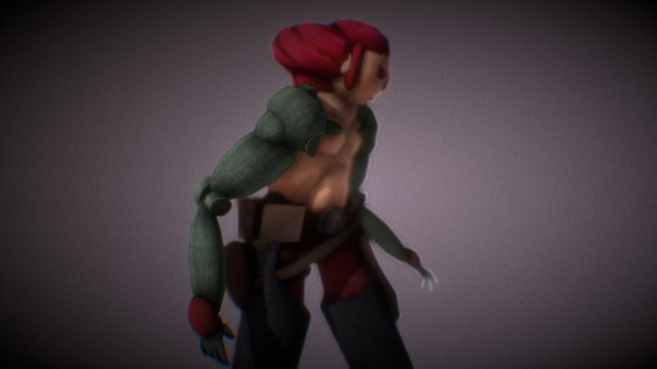 Lycus Dion Fan Made Character from Spacelords 3D Model