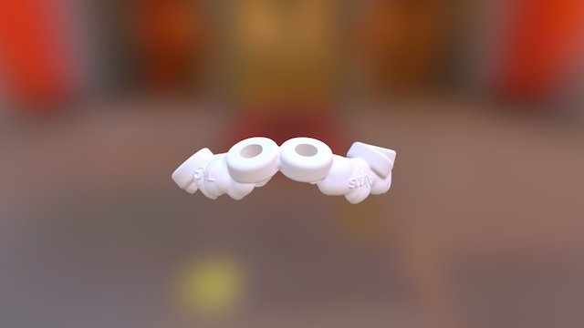 Surgical-Guide via coDiagnostiX™ 3D Model