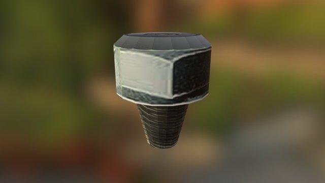 tornillo 3D Model