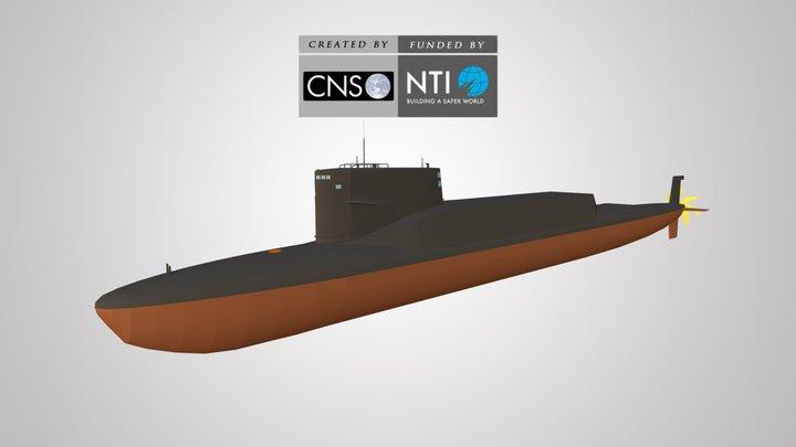 Jin-class SSBN 3D Model