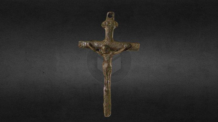 Rosary Crucifix - Grant 3D Model