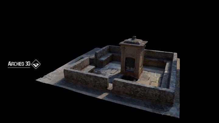Fonte da Facha, Vilarelho da Raia, Chaves 3D Model