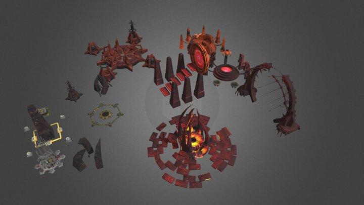 Buld Chaos 3D Model