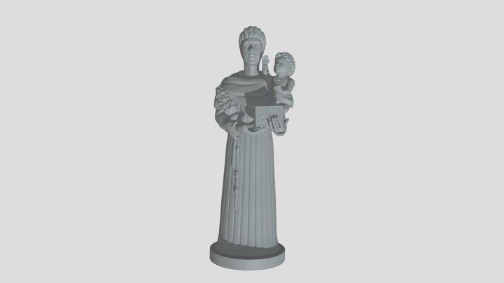 Sant'Antonio da Padova 3D Model