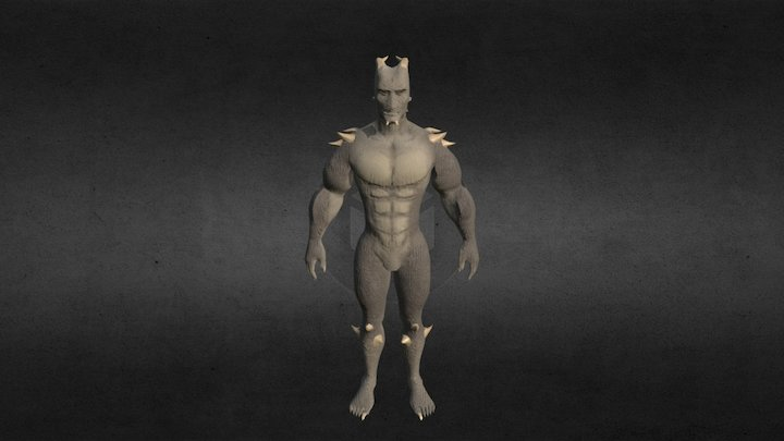 Tarlhulruk Male 3D Model