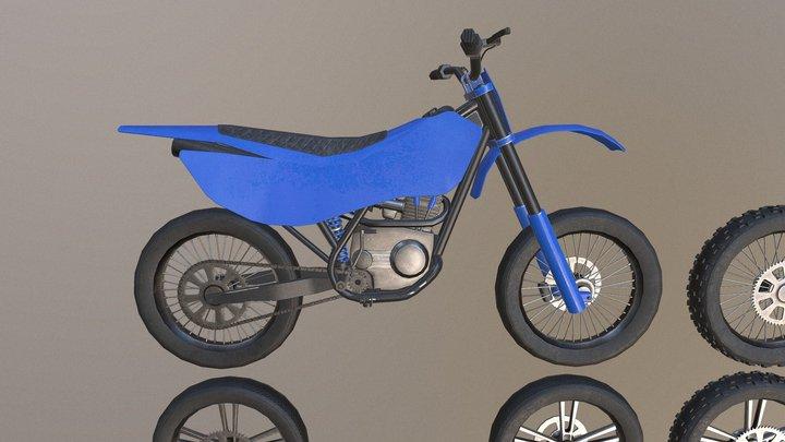Modular Dirt Bike 3D Model