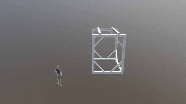 Structura 3D 3D Model
