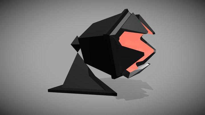 Small Turret (Retro Space Ship Series) 3D Model