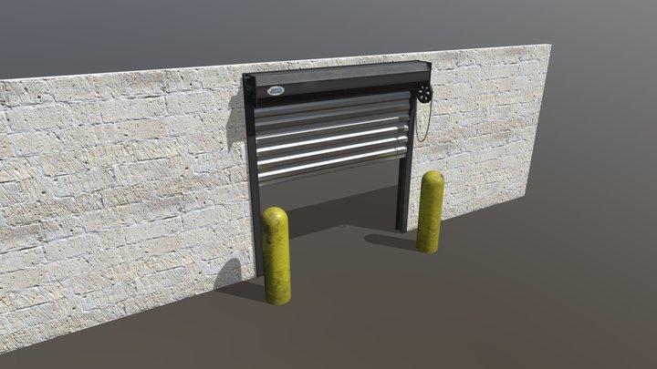 Roll Door 3D Model
