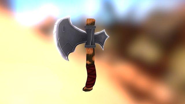 Throwing axe 3D Model