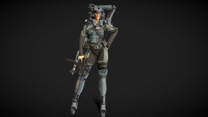 Mira 3D Model
