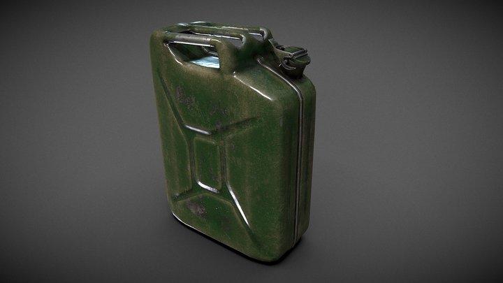 Jerrycan 3D Model