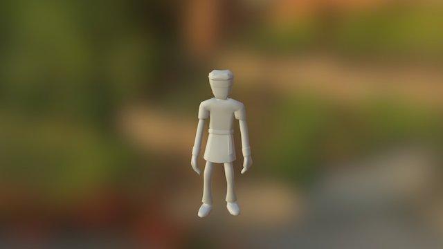 Village Hero - Looking Around 3D Model
