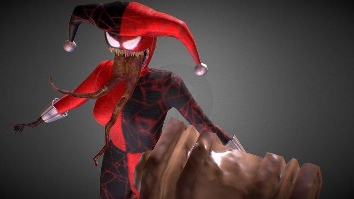 Harley Quinn - Venom 3D Model