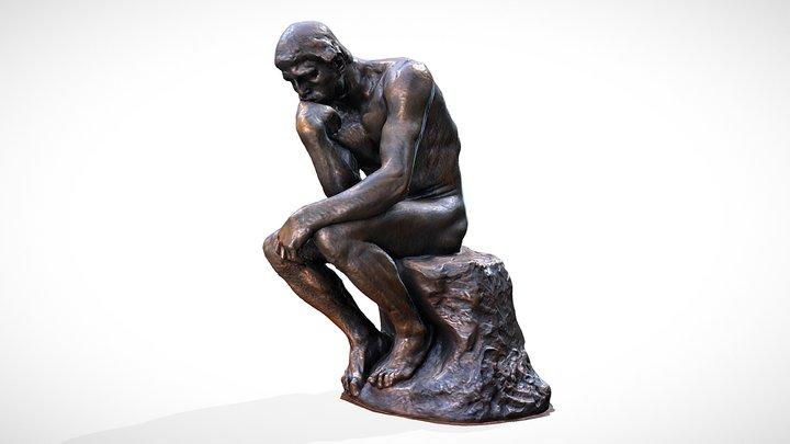 Le Penseur - Auguste Rodin 3D Model
