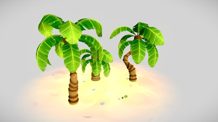 CoconutTree 3D Model