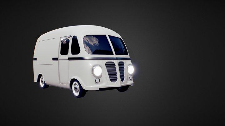 Ice Cream Truck (WIP) 3D Model