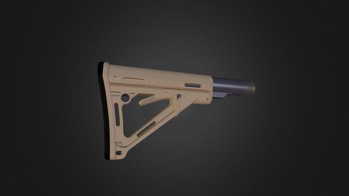 Magpul buttstock 3D Model