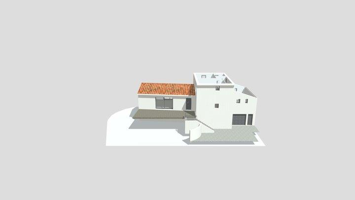 CONSTRUCTION D'UNE MAISON INDIVIDUELLE 3D Model