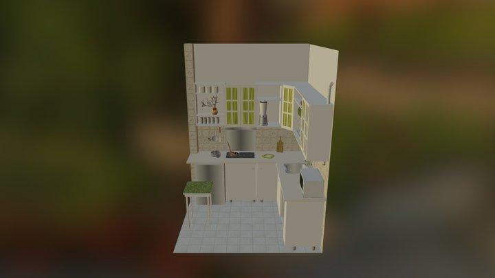 Konyha 3D Model