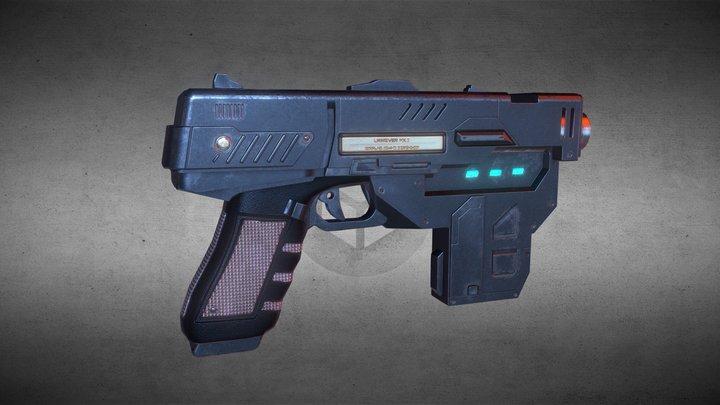 Dredd Lawgiver gun 3D Model
