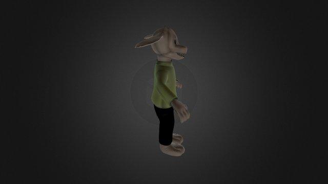 Asriel 3D Model 3D Model